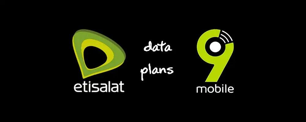 Etisalat (9mobile)Data Plan