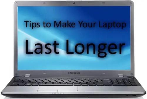 make your laptop last longer