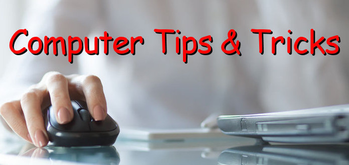 useful computer tips and tricks