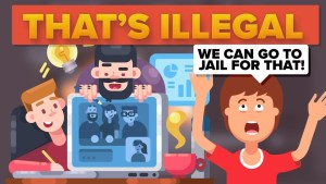 10 Illegal Things People Do On The Internet