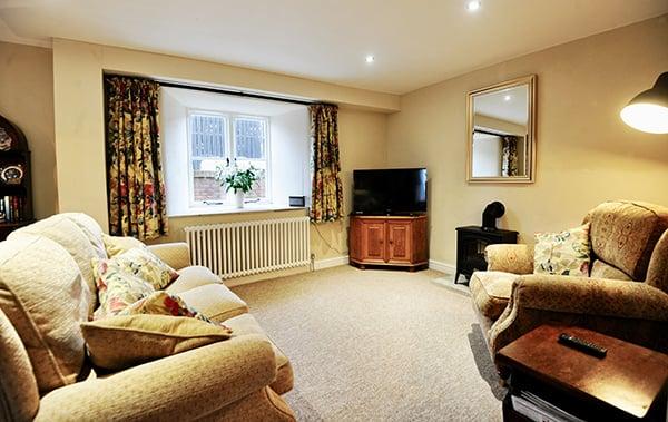 Byre Cottage Lounge Area