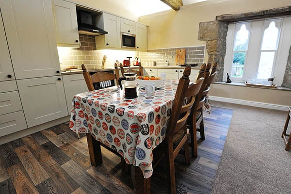 Hayloft Cottage Kitchen and Dining area