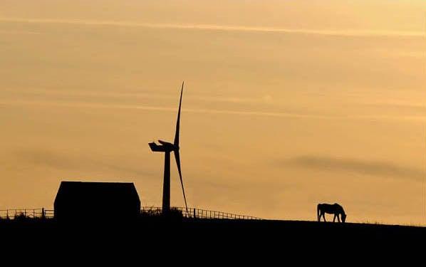 Dusk Sky Over Crimdon Village