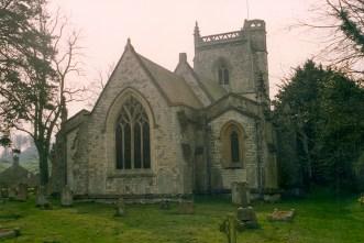 East Tisted Parish Church taken April 1992