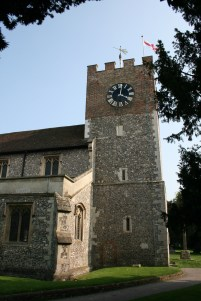 St John the baptist Church New Alresford
