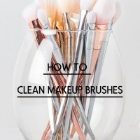 Ways to clean your Makeup Brushes