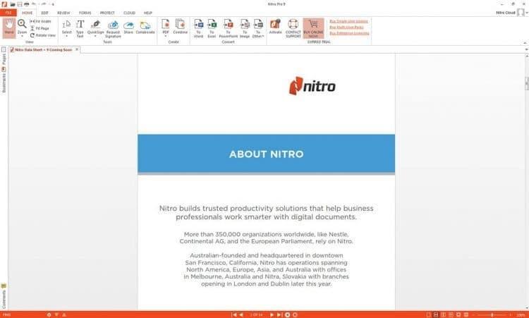 PDF ke PPT Nitro 9 Pro