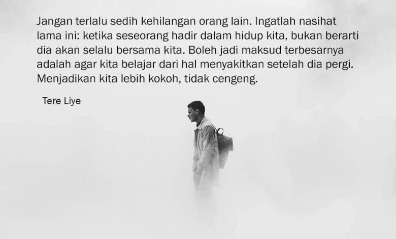 Photo of Kata Kata Tere Liye Terbaru (Kutipan dari 29 Novel Karyanya)