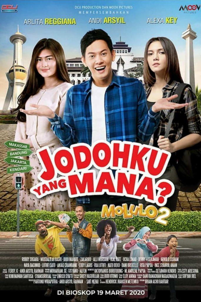 Poster Film Jodohku yang Mana