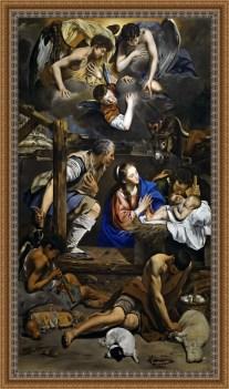 El Nacimiento - Juan Bautista Maino