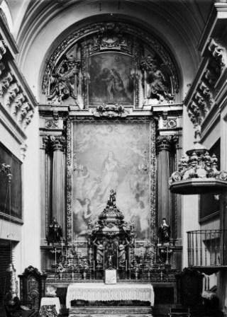 Convento de Santa Isabel - Retablo del altar mayor