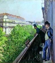 BALCÓN, BOULEVARD HAUSSMANN, 1880
