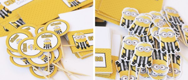 Kraft: Kit de papelería de los Minions