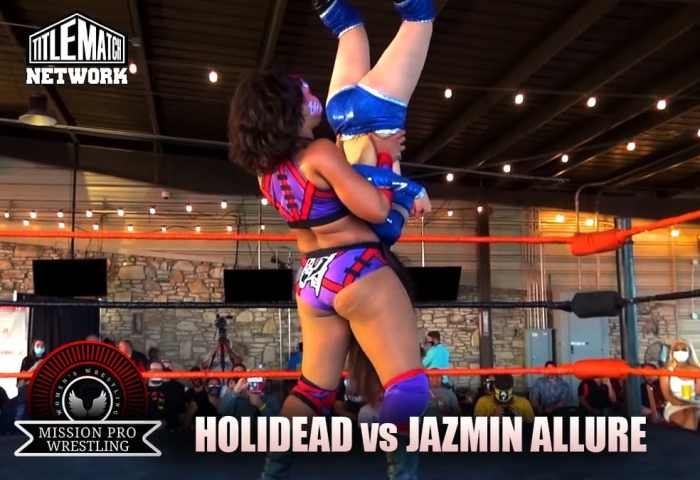 Holidead vs Jazmin Allure - Mission Pro Wrestling JPG 1200x675