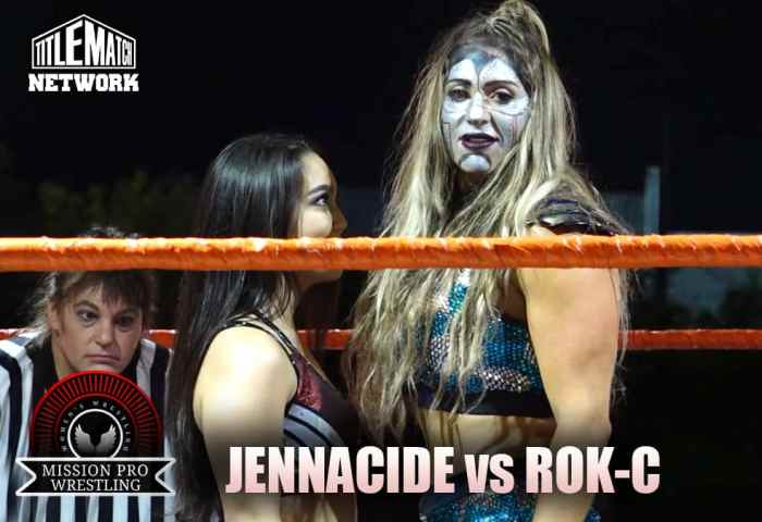 Jennacide vs Rok-C - Mission Pro Wrestling JPG 1200x675