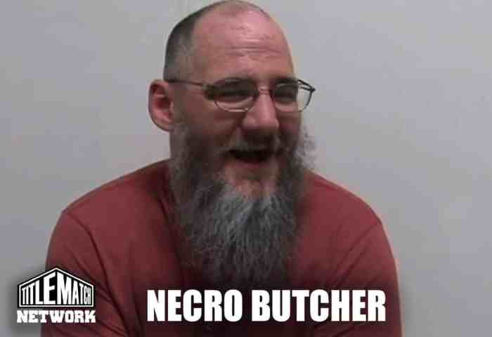 Necro Butcher Shoot Interview (Dylan Summers)