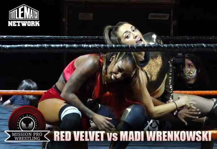 Red Velvet vs Madi Wrenkowski - Mission Pro Wrestling JPG 1200x675 New