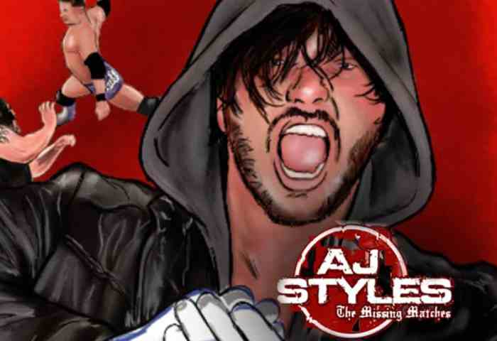 AJ Styles The Missing Matches 1200x675 Joe Dombrowski - Title Match Network