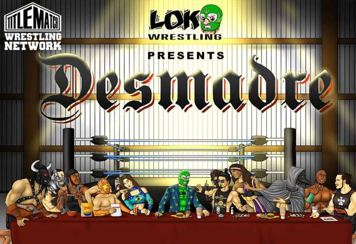Loko Wrestling Desmadre 11.19.20 - Title Match Network 1280x720