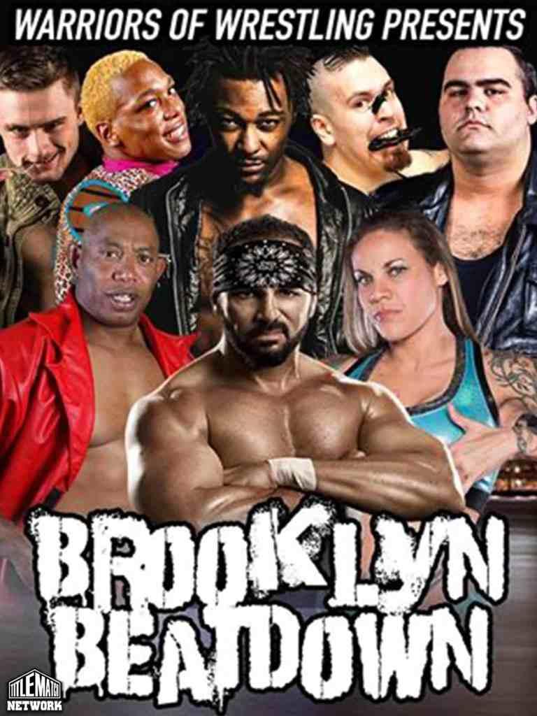 WOW Brooklyn Beatdown 18x24 Poster 3.9.19 Title Match Network