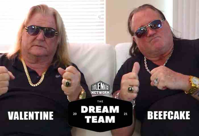 Greg Valentine Brutus Beefcake The Dream Team Shoot Interview JPG 1200x675 New