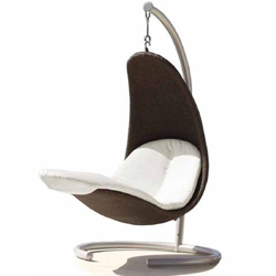 Viva-Lagoon-Skyline-Design-Cristy-Hanging-Chair-in-Chocolate-and-Silver-£1640