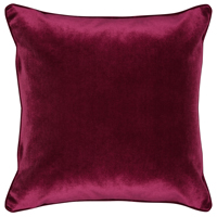 Interior design ideas M&Co dark red cushion