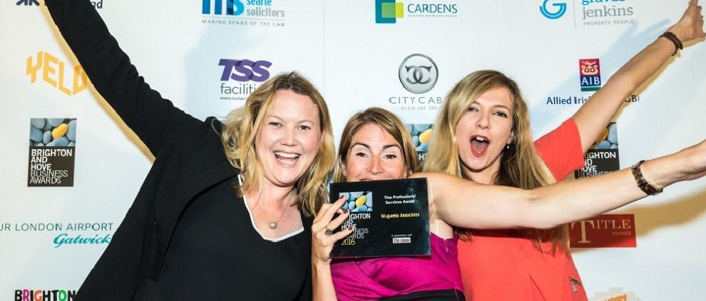 Magenta - winners last year BAHBAs on Title Sussex Magazine www.titlesussex.co.uk