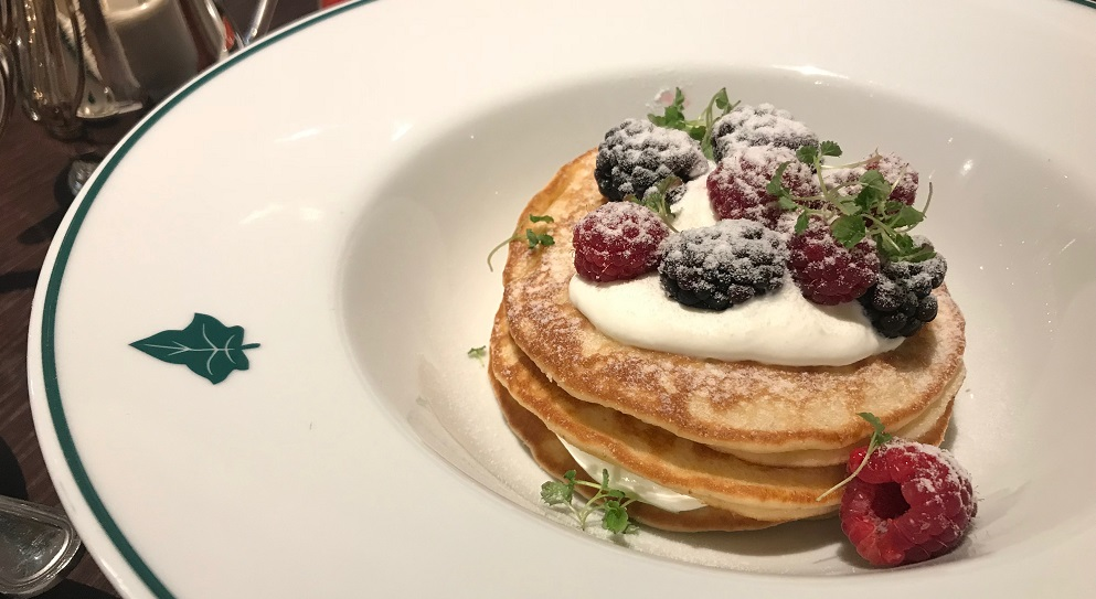 Stack of pancakes at The Ivy - Title Sussex Magazine www.titlesussex.co.uk