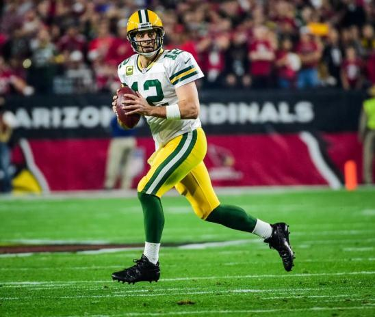 Aaron Rodgers Divisional Playoffs