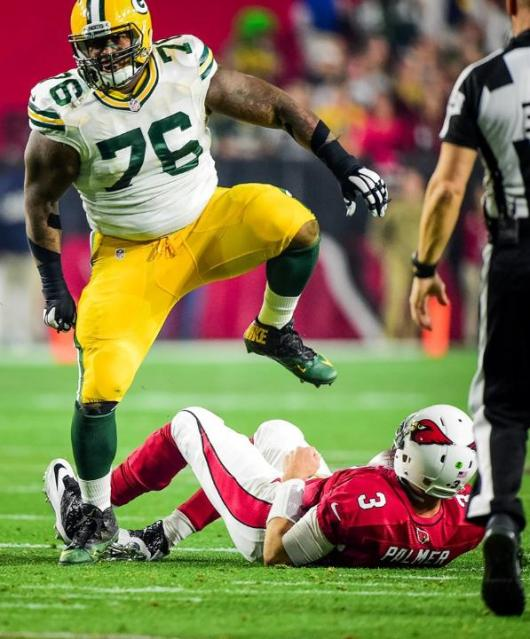 Mike Daniels Divisional Playoffs