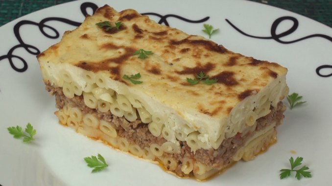 Pastitsio Recipe - Titli's Busy Kitchen