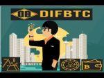 DifBTC: Pagina PTC para ganar Bitcoin. ( NO Paga es una Estafa)