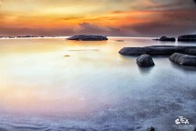 View from Tg.Tinggi - Belitung