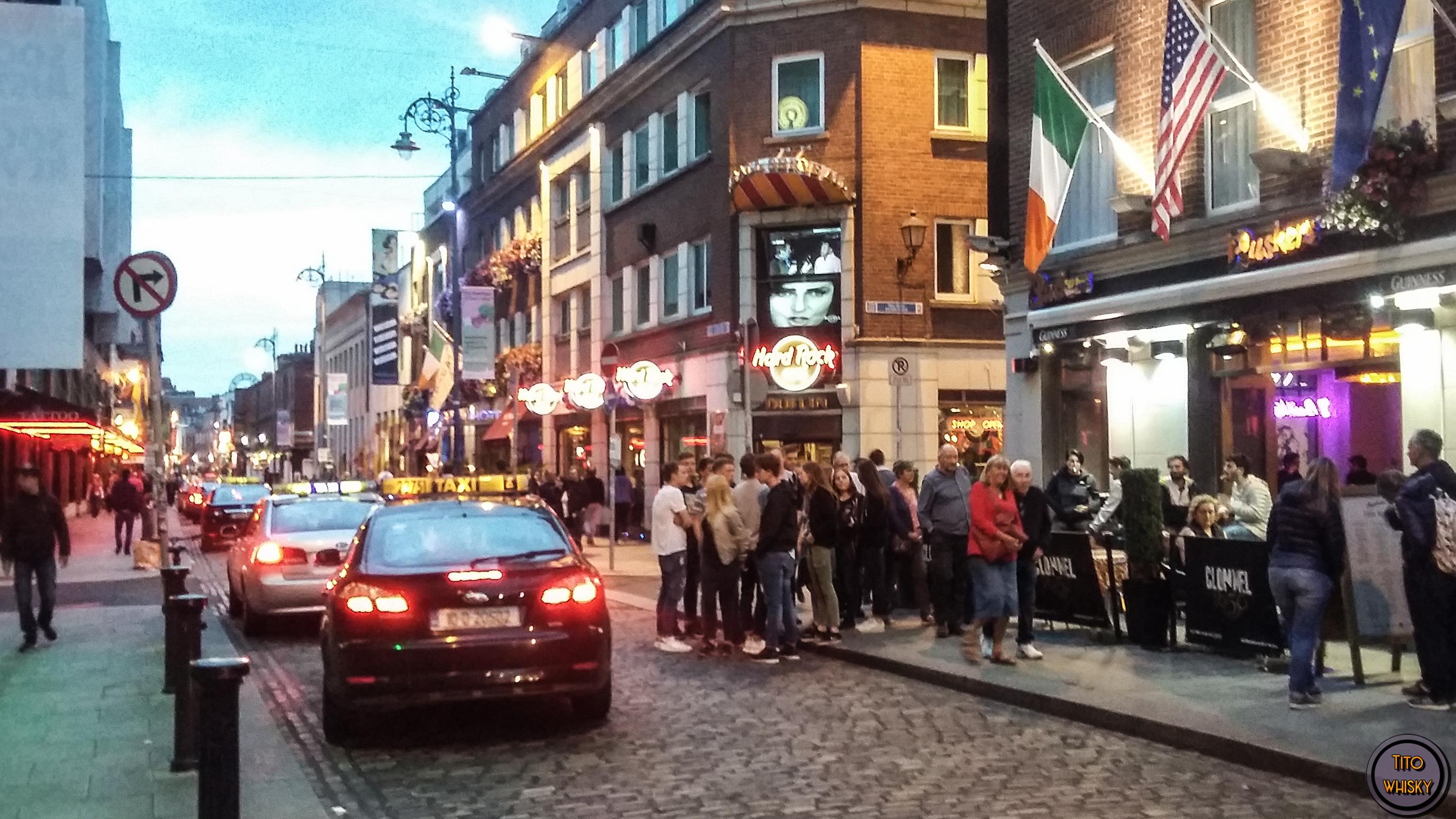 Dublín por la noche