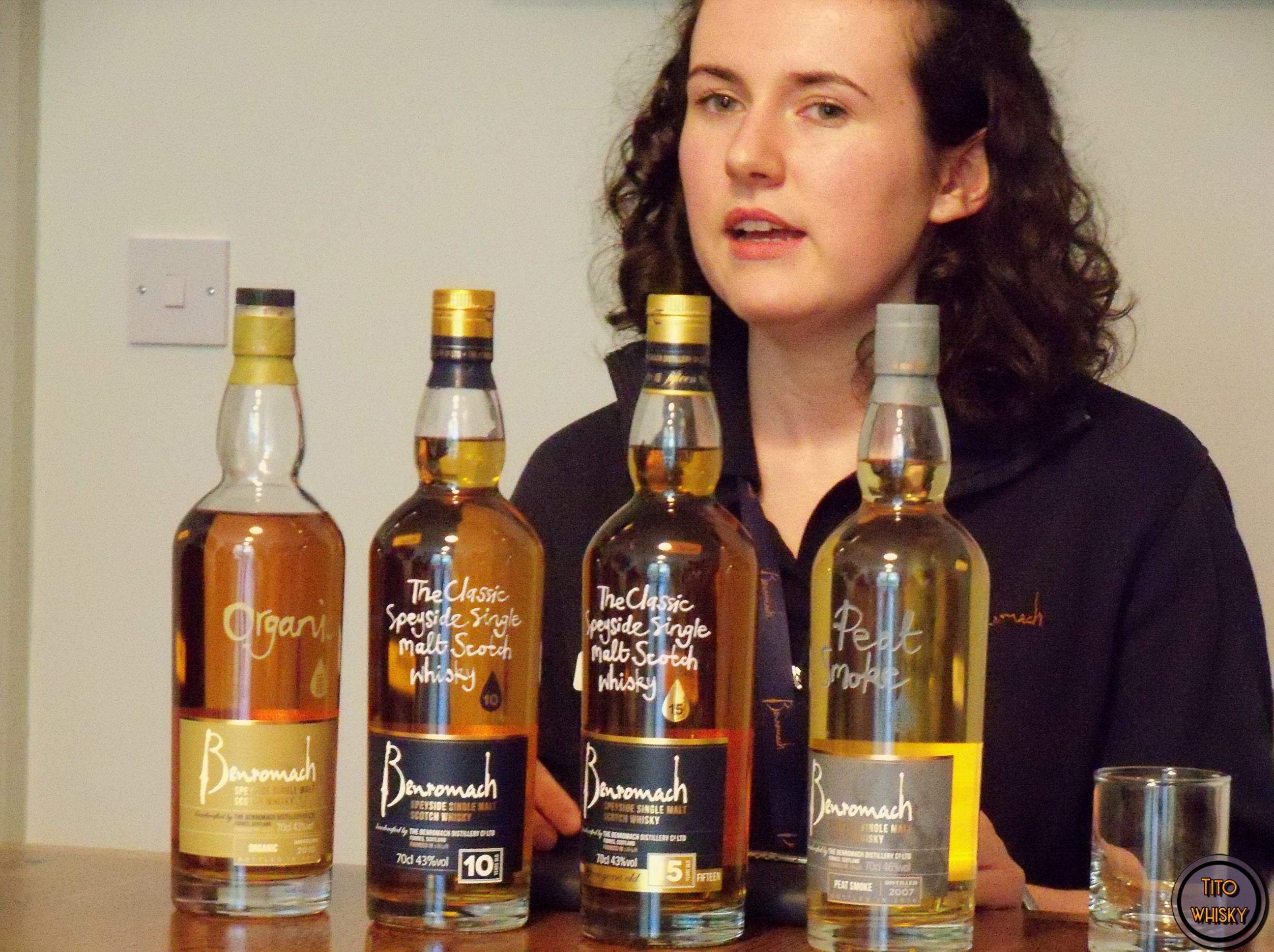 Degustación de whisky Benromach
