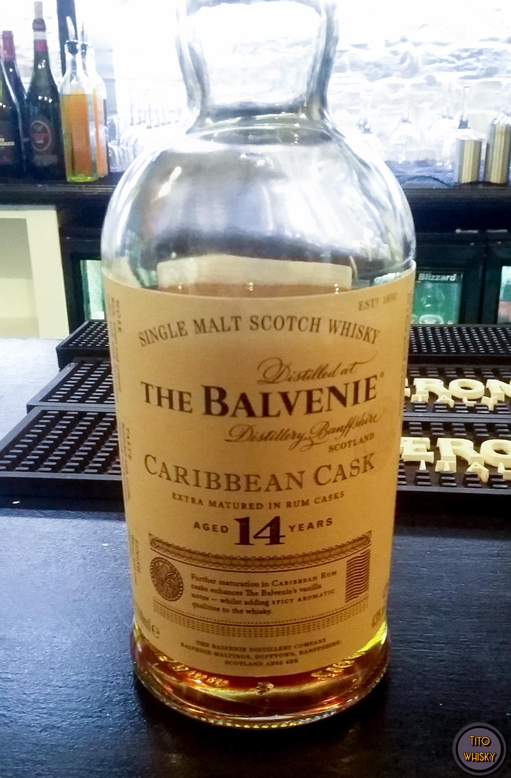 The balnvenie 14 caribbean cask