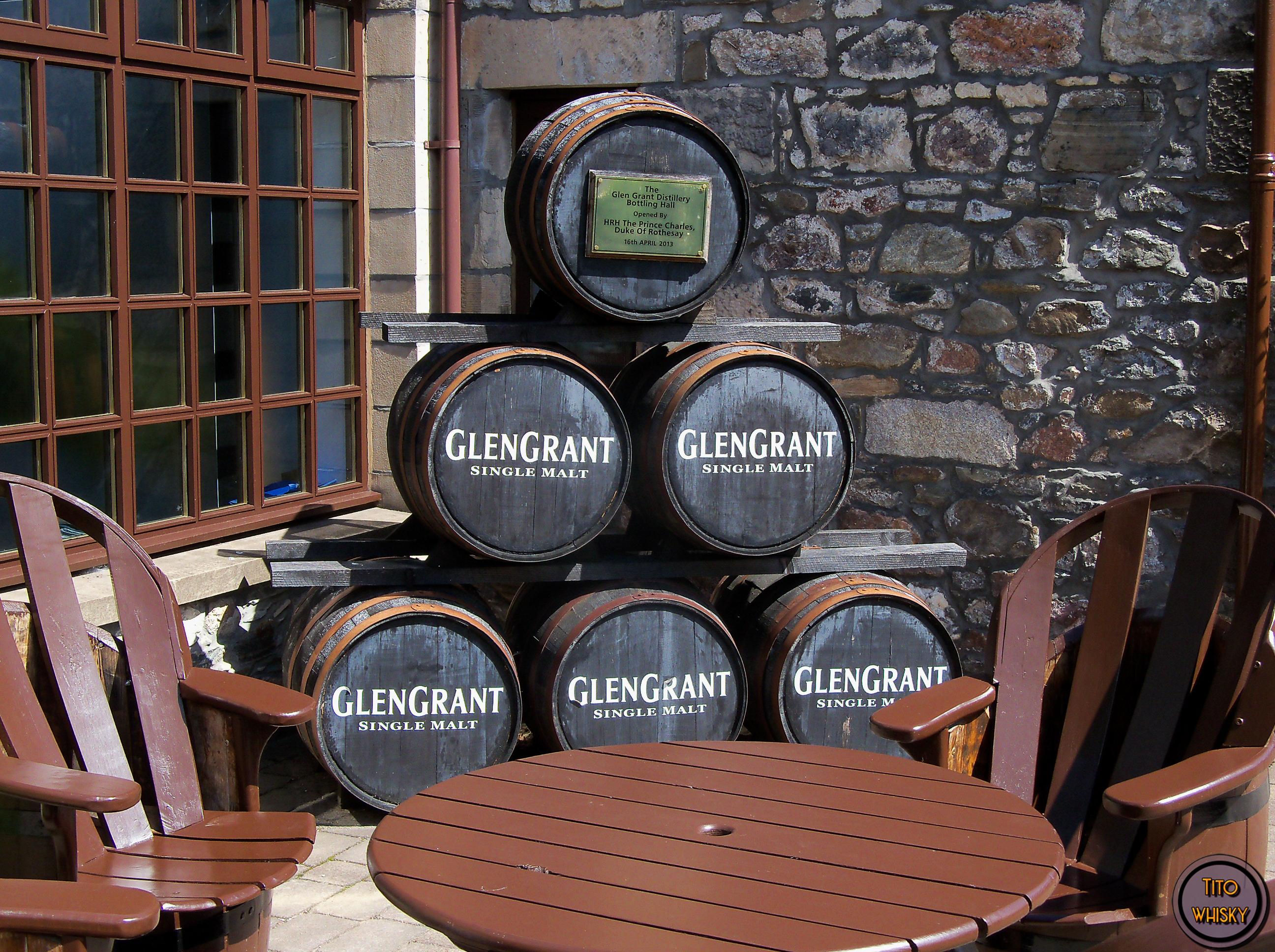 Destilería Glen Grant