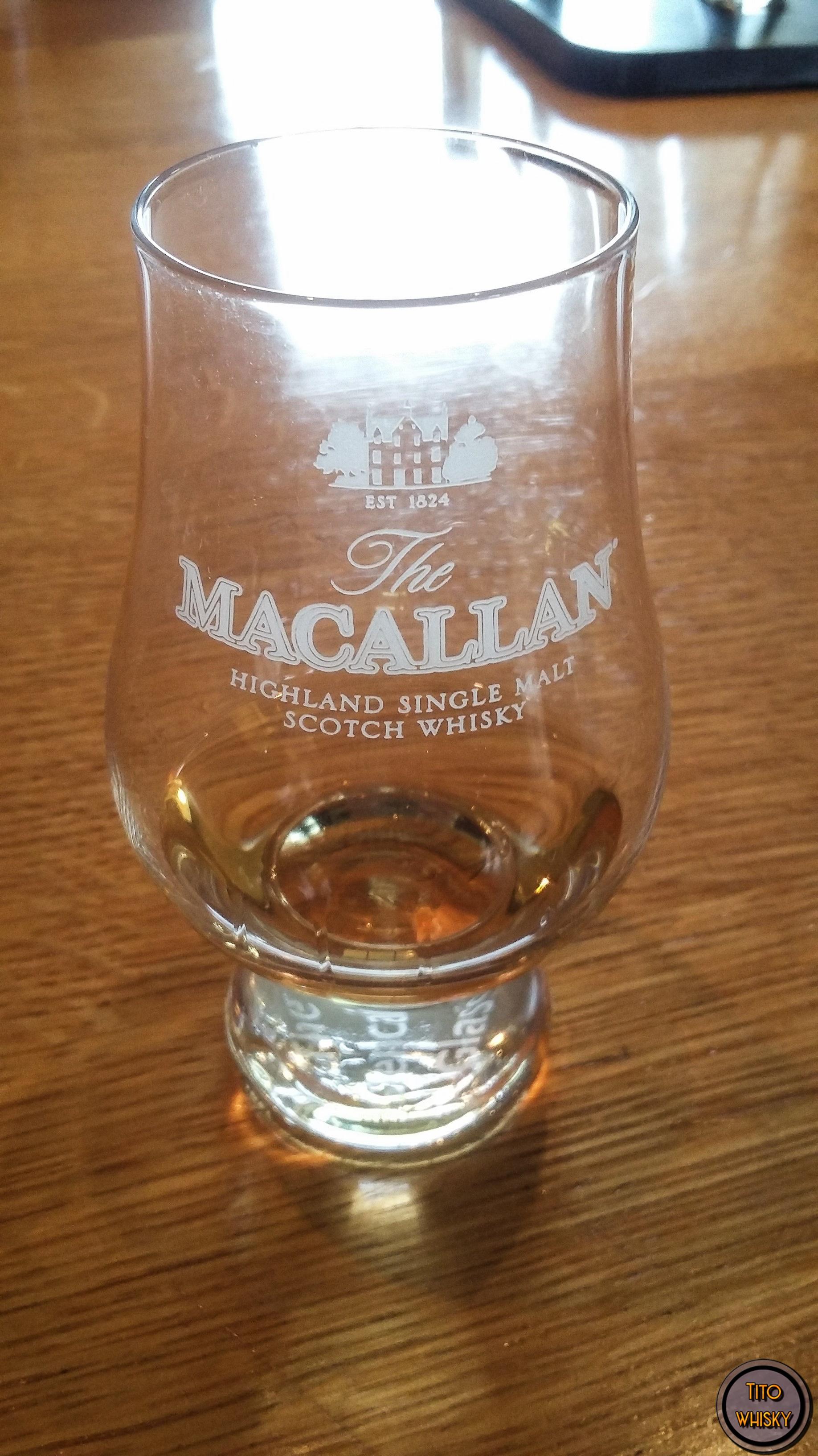 Degustando The Macallan