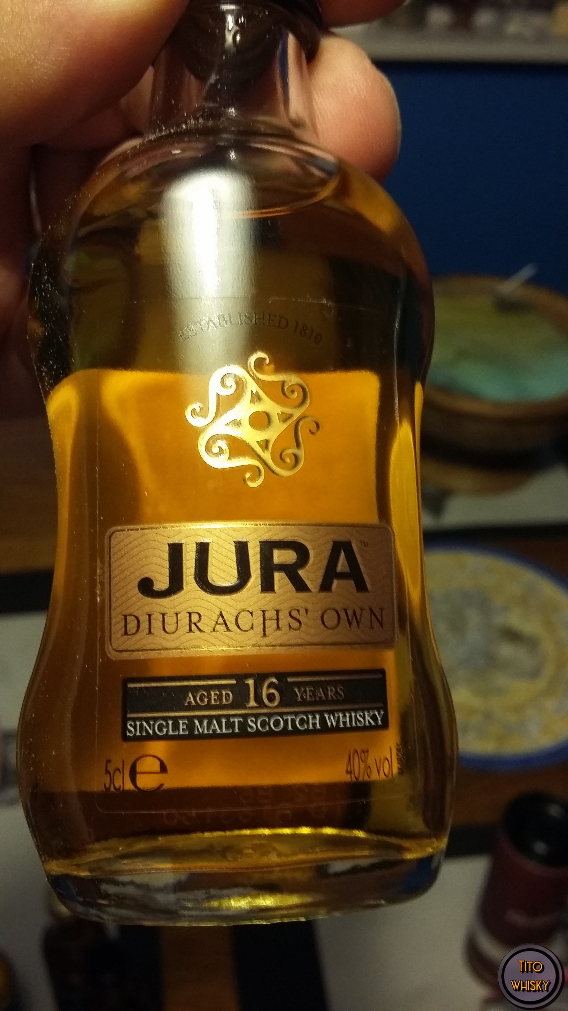 Whisky Jura diurachs' own