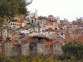 Holy Land USA was a theme park based on passages from the Bible. At its peak in the 1960s and 70s, the park attracted around 40,000 visitors annually. It was closed down in 1984, though the grounds remain intact.