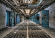 Fear and decay in an abandoned prison.Photo By Niki Feijen