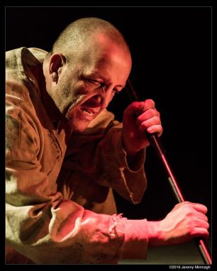 Ron Kennell in The Death of The King - Photo by Jeremy Mimnagh