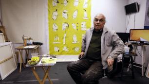 گفتگوی بی پرده با محمود معراجی، نقاش ایرانی ساکن کانادا.
