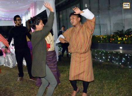 میهمانی پایانی جشنواره و شادی فیلم سازان تبتی