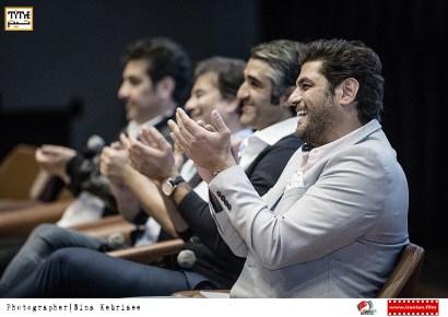 سام درخشانی، پژمان جمشیدی، پیمان قاسمخانی و محسن چگینی