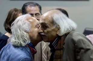 سلیمان واثقی و دکتر بهمن مقصودلو عکس: خشایار