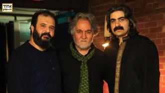 مجید درخشانی، شاهو عندلیبی و پدرام خاورزمینی در فستیوال تیرگان ۲۰۱۷