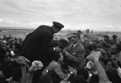Gamal Abdel Nasser, the second President of Egypt from 1956 until 1970.
