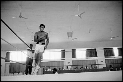 ZAIRE. Kinshasa. ALI-FOREMAN Boxing Fight. 1974.